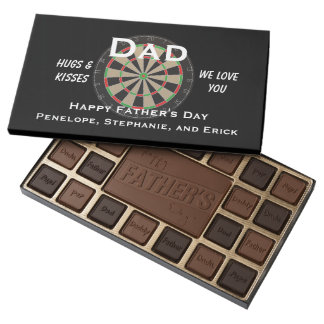 Dart Board Father's Day Gift Assorted Chocolates
