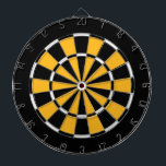"""Dart Board in Pittsburgh Hockey Colors<br><div class=""""desc"""">Dart Board in Pittsburgh Hockey Colors</div>"""