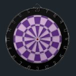 "Dart Board: Light Purple, Dark Purple, And Black Dart Board<br><div class=""desc"">Light Purple,  Dark Purple,  And Black Colored Dart Board Game Including 6 Brass Darts</div>"