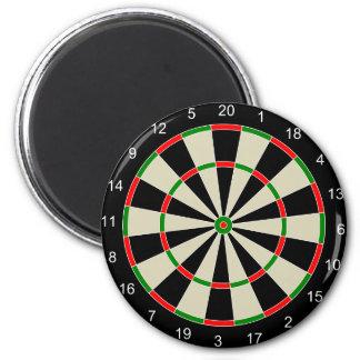 Dart Board 2 Inch Round Magnet