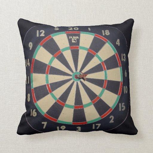Dart_Board_Pillow, Cojín