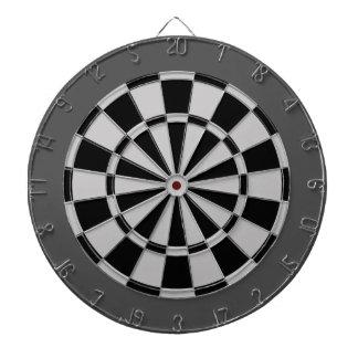 Dart Board: Silver Gray, Black, And Charcoal Dartboards