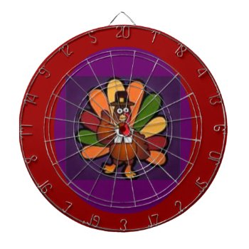 Dart Board Thanksgiving Turkey by creativeconceptss at Zazzle