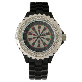 Dart Board Wristwatches