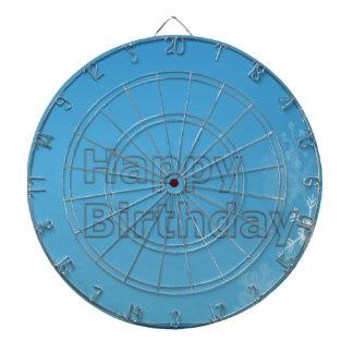 DART Chakra 101- Happy Birthday in Blue Dart Boards