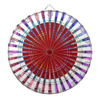 DART Chakra 109 Basket Weave Rainbow Beauty Dartboard