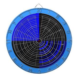 DART Chakra 112 Basket Weave Blue n Black Dart Boards