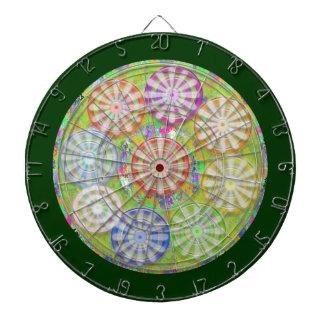 DART Chakra 121 Multiple - Stars n Pearls Dart Boards