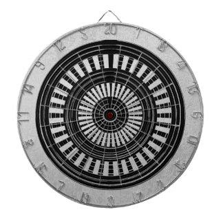 DART Chakra - Black n Silver Wheels Rough Tough Dart Board