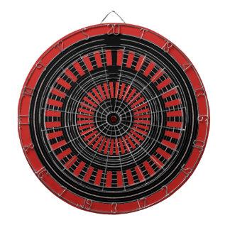 DART Chakra - Black n Silver Wheels Rough Tough Dart Boards