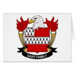 Dart Family Crest Cards