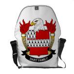 Dart Family Crest Messenger Bags