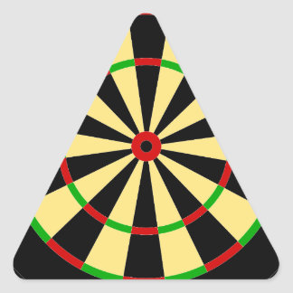 Dart for Image Triangle Sticker