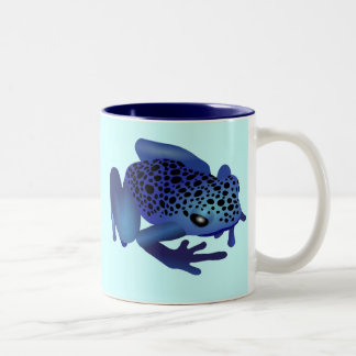 Dart Frog Two-Tone Coffee Mug