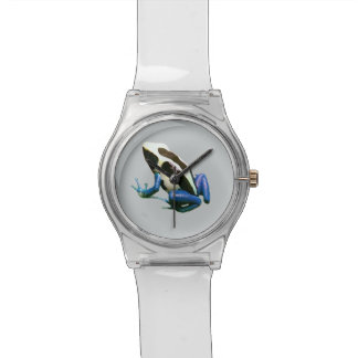 Dart frog watch, Dendrobate frog watch, cool Watch