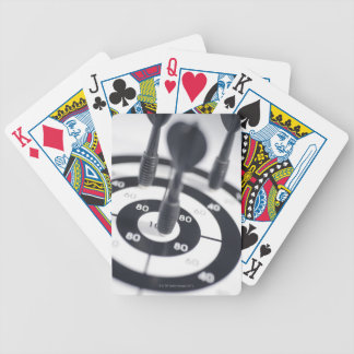 Dart in Bulls Eye Bicycle Playing Cards