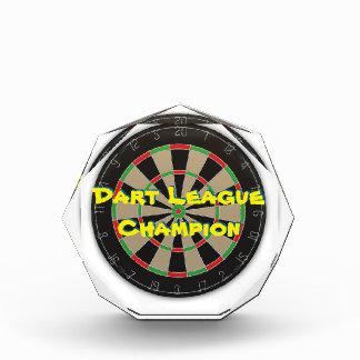 Dart League Champion Award