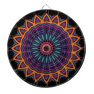 DART Mandala - Flower Dartboard With Darts