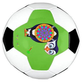 Dart Penguin by The Happy Juul Company Soccer Ball