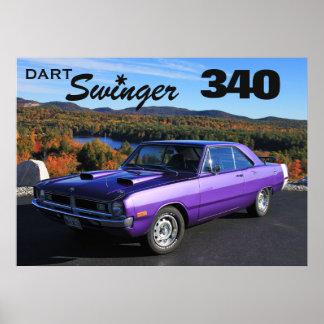 Dart Swinger 340 Poster