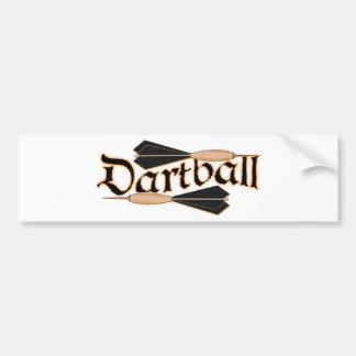 Dartball Darts Bumper Sticker
