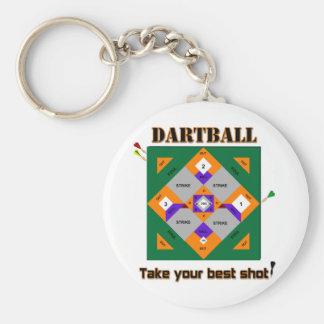 Dartball Llavero Redondo Tipo Pin