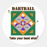 Dartball Sticker