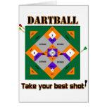 Dartball Tarjeta