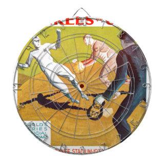 Dartboard 1932 del programa de la serie de mundo