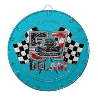Dartboard. 1957 del Bel Air de Chevy