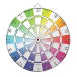Dartboard 2 del arco iris tablero dardos