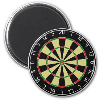 Dartboard 2 Inch Round Magnet
