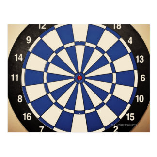 Dartboard 2 postcard