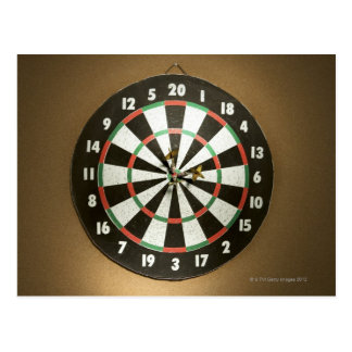 Dartboard 3 postcard