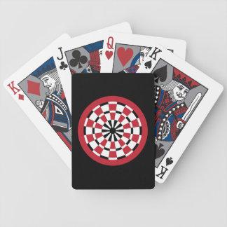Dartboard adaptable cartas de juego