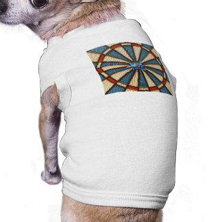 Dartboard Bullseye Doggie Shirt