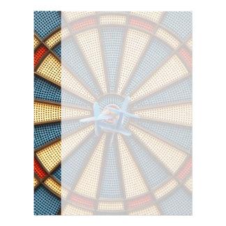 Dartboard Bullseye Letterhead