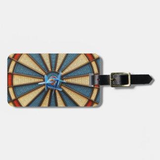 Dartboard Bullseye Luggage Tag