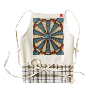 Dartboard Bullseye Zazzle HEART Apron