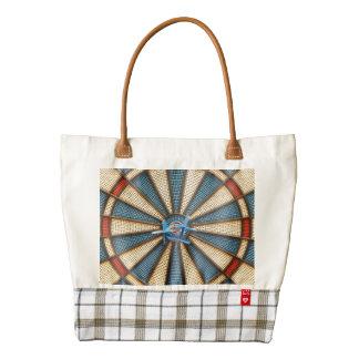 Dartboard Bullseye Zazzle HEART Tote Bag