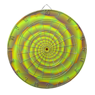 Dartboard  Coiled Yellow Rope Tunnel