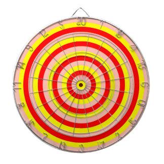 Dartboard colorido de los círculos concéntricos