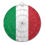 Dartboard con la bandera de Italia Tablero Dardos