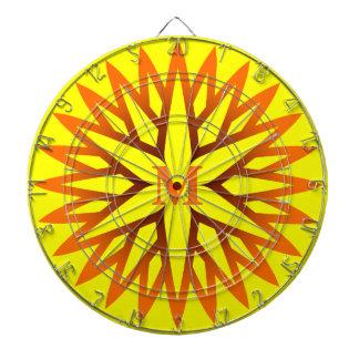 Dartboard con monograma