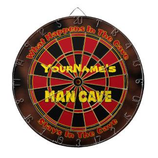 Dartboard conocido personalizado de la cueva del h tablero de dardos