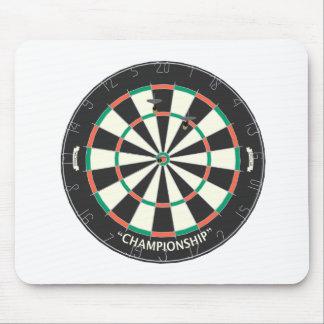 Dartboard & Darts: 3D Model: Mouse Pad
