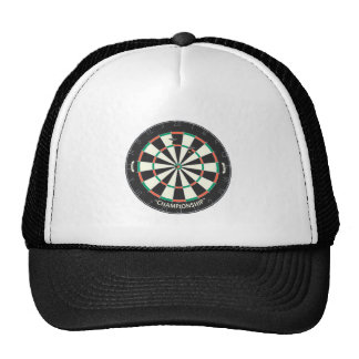 Dartboard & Darts: 3D Model: Trucker Hat