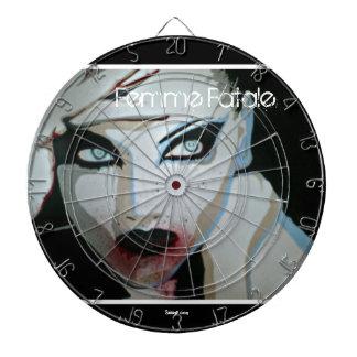 "Dartboard de ""Femme Fatale"" (zombi)"