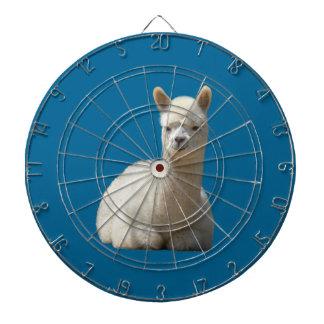 Dartboard de la alpaca