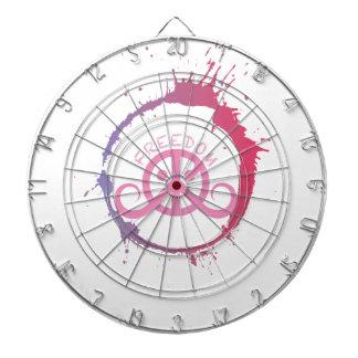 """Dartboard de la libertad (18"""" diámetro; chapoteo f tabla dardos"""